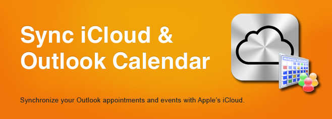 Sync iCloud & Outlook Calendar. Synchronize your Outlook appointments and events with Apple's iCloud.